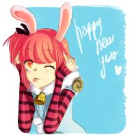 Durimu bunny year by Watertae