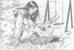 X-23 lost childhood by Dannith
