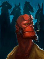 Hellboy by gynemeth78