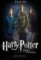 Harry, Hermione Ron The Order of the Phoenix by fillesu96