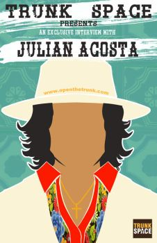 Julian Acosta TrunkSpace poster by DustinEvans