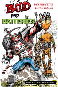 Blood and Batteries issue 3 cvr by pigmanga
