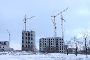 High-Rise Construction 6 by ManicHysteriaStock