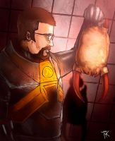 Gordon Freeman by Tharkim