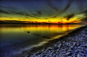 Cape Cod Sunset by IraMustyPhotography