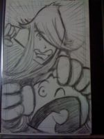 Brit  and  Ivy Sketch Card by XxPohGoxX