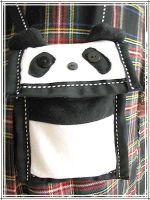 Panda Purse by omelets4sqwerls