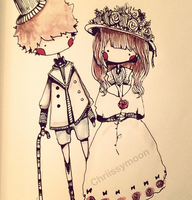 Victorian Couple by chriissymoon
