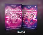 Valentine Night - Love Party Flyer by imagingdc