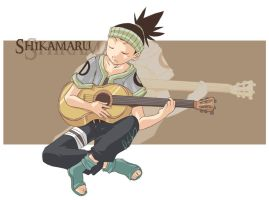 Play me a song - Shikamaru by Uberzers
