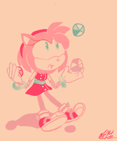 Amy le Juggler by ArtisyOne