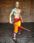 Adult Aang - Avatar The Last Airbender Cosplay by Elffi