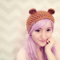 bear ears headband crochet pattern by hellohappycrafts