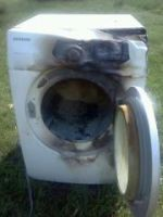 Whats Left Of The Dryer.... D: by hollyhegi4366