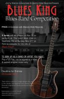 Blues King Poster by scorpio1583