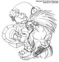 Wacked and Blanka by AndrewDickman