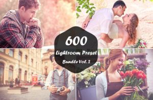 600 Lightroom Presets Bundle Vol.2 by symufa