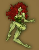 Poison Ivy by franganesques by carol-colors
