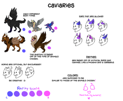 species that i came up with awhile ago by k9tails