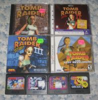 Tomb Raider + Game Gear stuff by T95Master