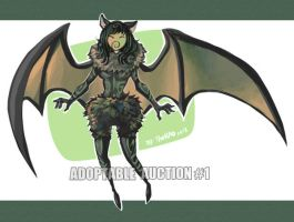 Adoptable Auction #1: Bat Girl (closed) by TheK40