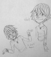 Haddock Sketches by WillowLightfoot