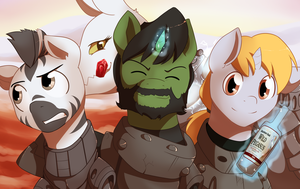 Comm: The Rangers of Wintertrot by MylittleSheepy