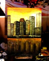 City lights by NilleMusic