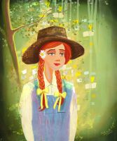 Anne of Green Gables by eydii