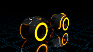 Tron Bike - Work In Progress/Test | C4D render by pixxel-dbstp