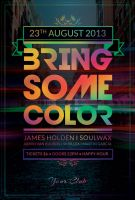 Bring Some Color Flyer by styleWish
