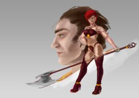 WOD - Restyle 2 WIP by Lidivien