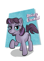 Misty Orchid by LunarShineStore