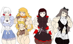 RWBY(request) by jurian1994