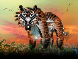 CyberTyger by henflay
