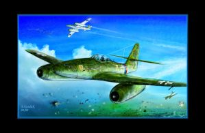 ME262 the first version by andrekosslick