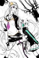 Vocaloid Human... by ComiPa
