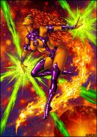 Starfire - commission pic by Candra