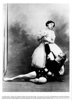 Nijinsky and Karsavina, 1910 by Step-in-Time-Stock