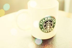 Starbucks coffee by busychocolatemiss