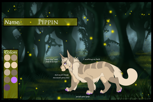 Pippin Ref Sheet by SapphireSquire