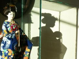 Geisha in a Glass Tomb by ams719