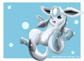 Glaceon by Deruuyo