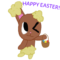 HAPPY EASTER EVERYONES X3 by MienfooInTraining
