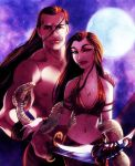 CC: Scorpion King and the Sorceress by MistyTang