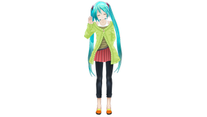 Api Autumn Breeze Miku (No necklace) - Download by SomeFatWhiteGuy