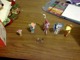 All of the papercrafts i made so far by RainbowDashi