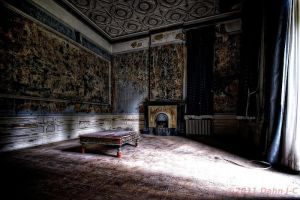 Rotting living room by ZerberuZ