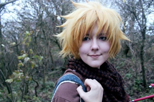 Roxas Kingdom Hearts Winter cosplay by AloHeartRocks-Lexy