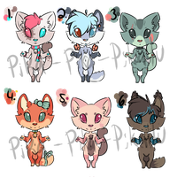 Cheap Adopts Set! -50-150 Points- by Pika-Pika-Pikahu